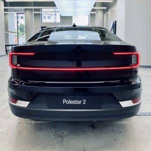 Polestar 2, Rear — San Francisco Pop-Up